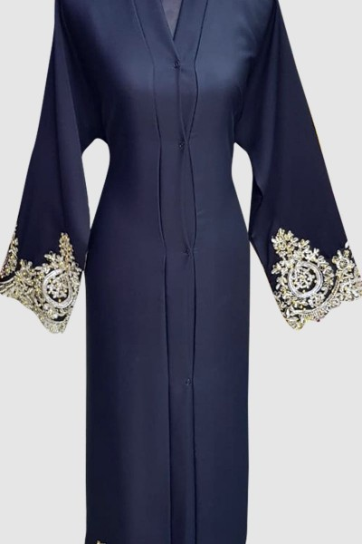 Classy Fancy Lace Abaya