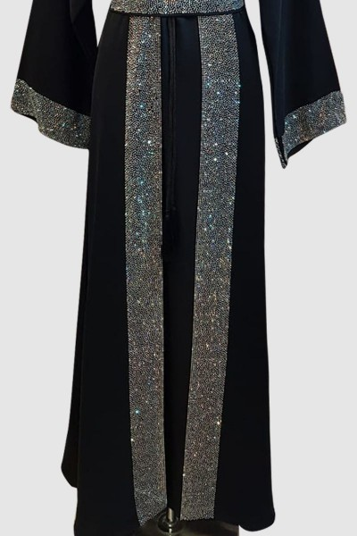 Modest Crystal Abaya