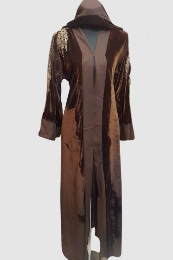 Velvet Pearl Designer Abaya