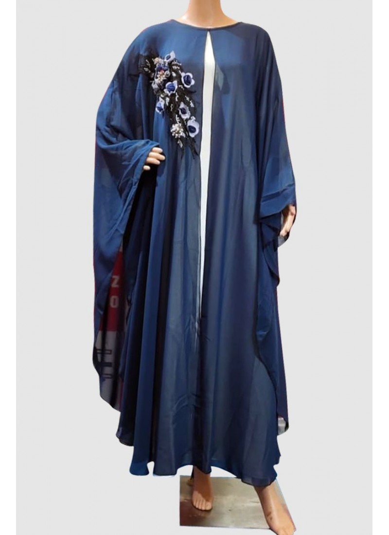 Modern Fancy Butterfly Abaya