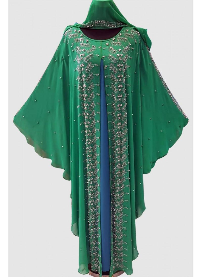 Stunning Crystal Abaya