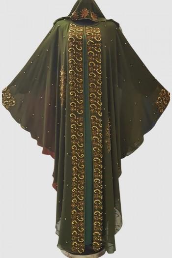Embellished Farasha Abaya