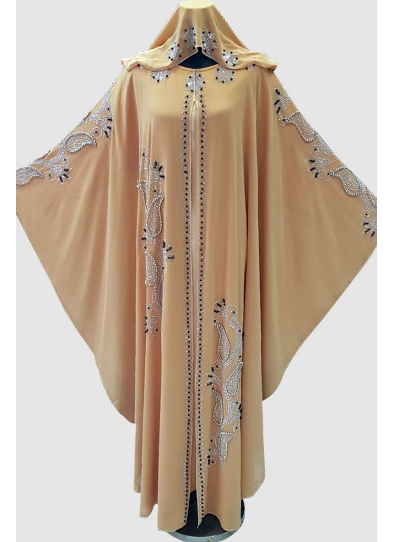 Designer Fancy Butterfly Abaya