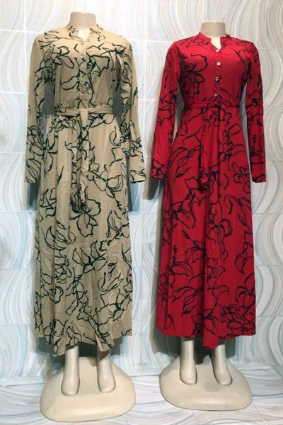 Modest Elegance Casual Dress