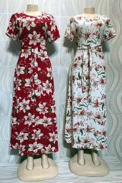 Elegance Printed Casual Dress