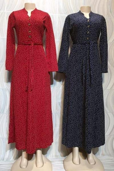 Causal Dress Printed Dress