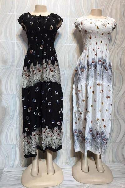 Short Sleeve Fancy Causal Dress