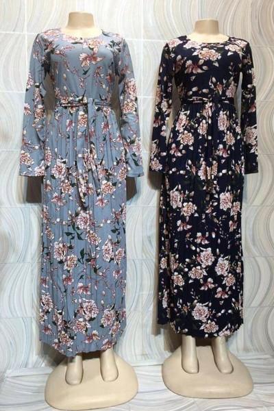 Classy Casual Print Dress