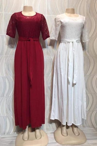 Short Sleeve Modest Casual Dress