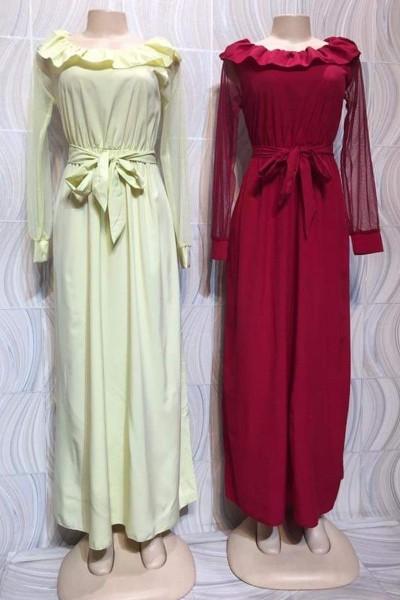 Modern Elegance Casual Dress