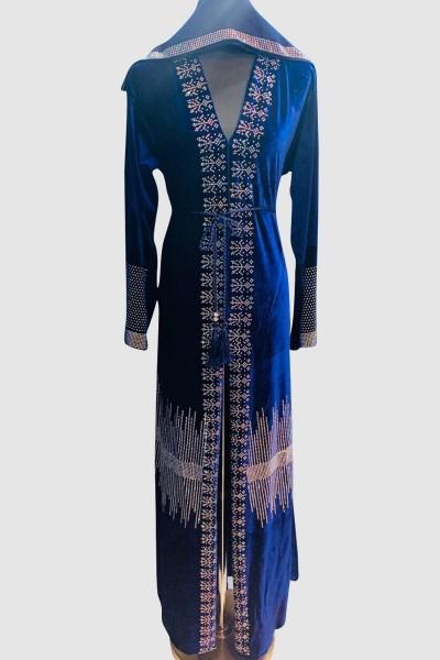 Fancy Modern Crystal Abaya