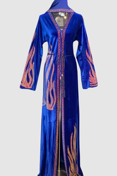 Sophisticated Saniya Velvet Abaya