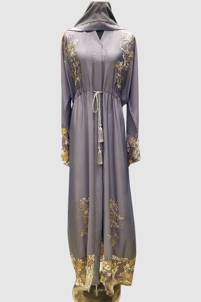 Flower Patch Designer Abaya