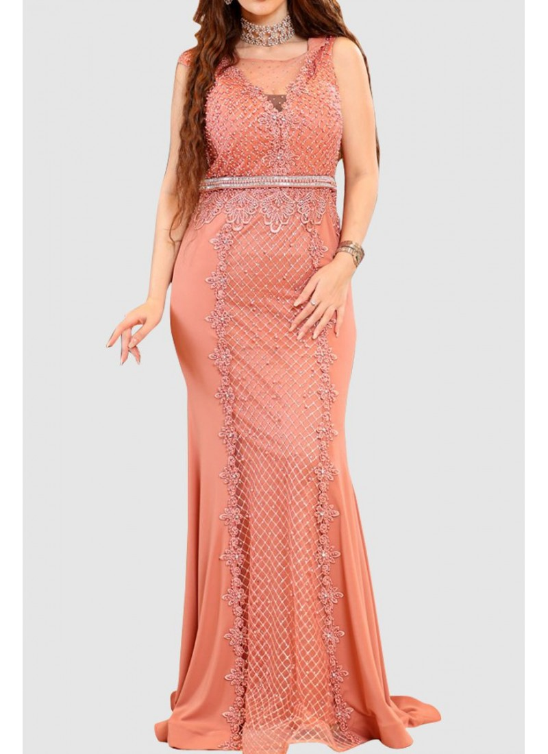 Modest Designer Party Dress