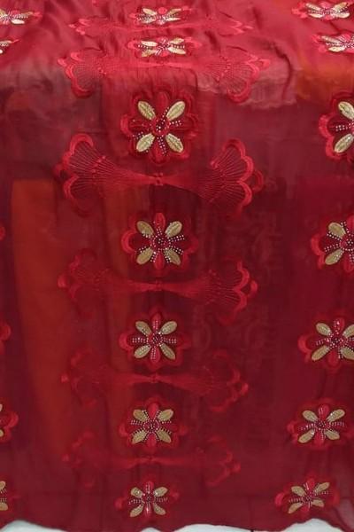 Designer Embroidery Scarf