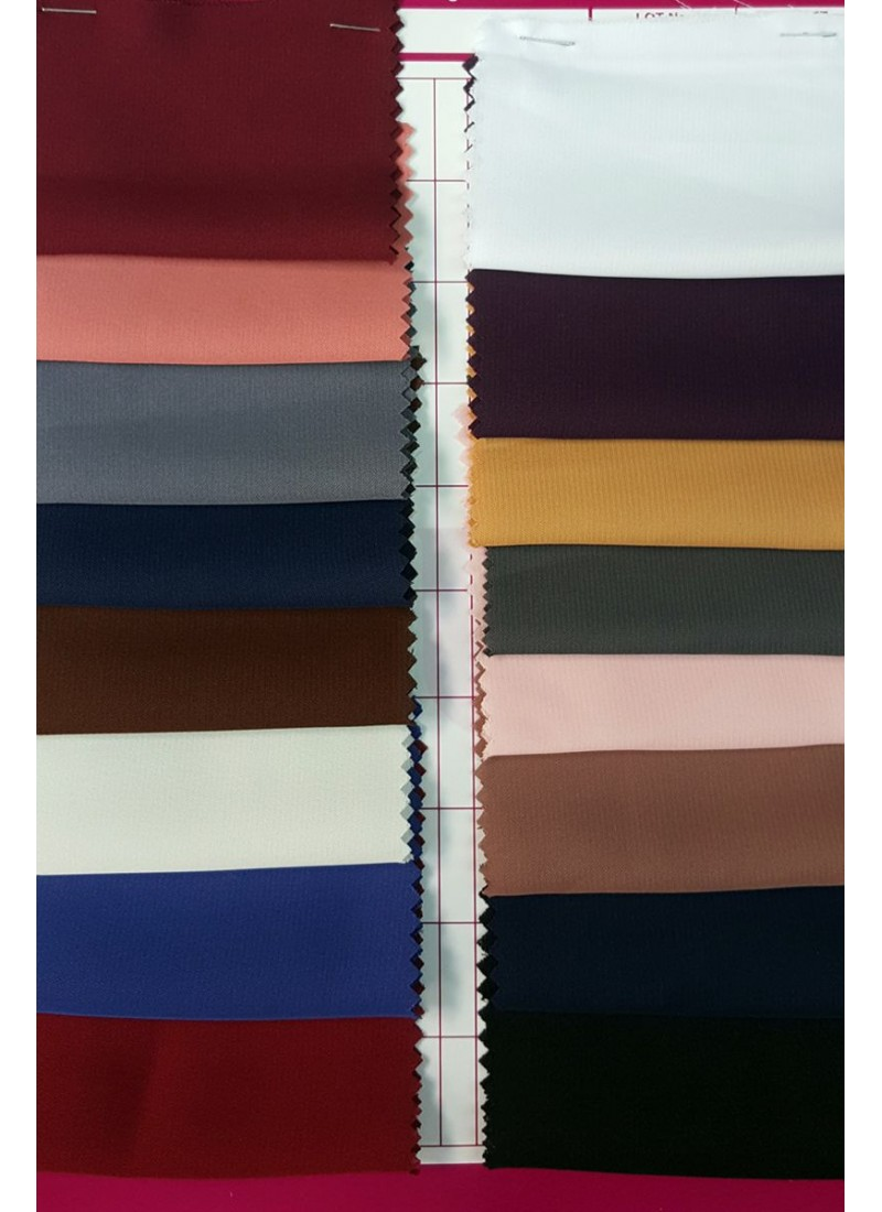 Korean Nida Color Fabric