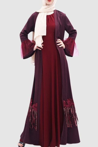 Sequence Abaya Free Shipping