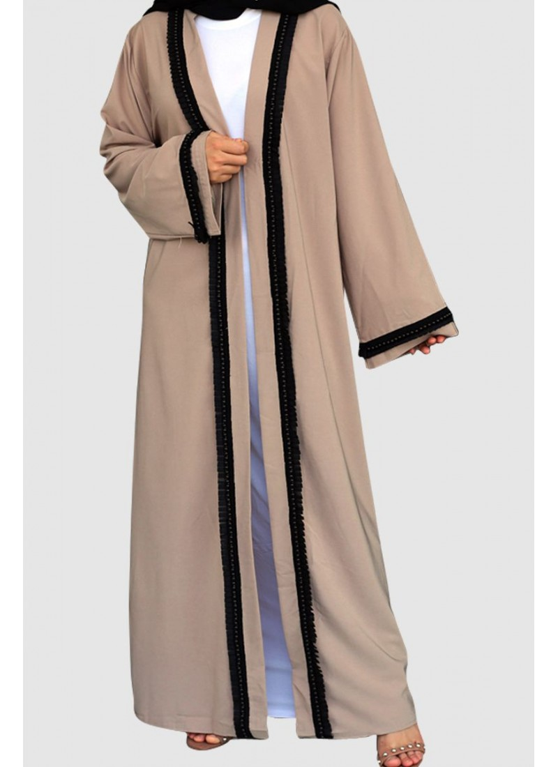 Open Stylish Abaya Free Shipping