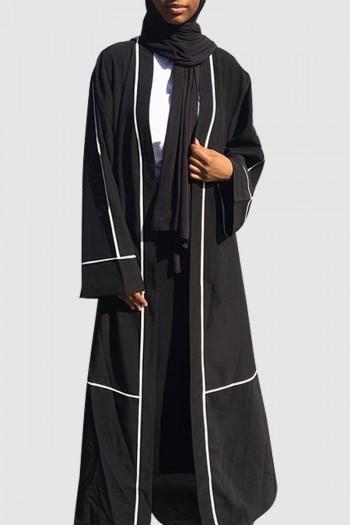 Black Stylish Abaya Free Shipping