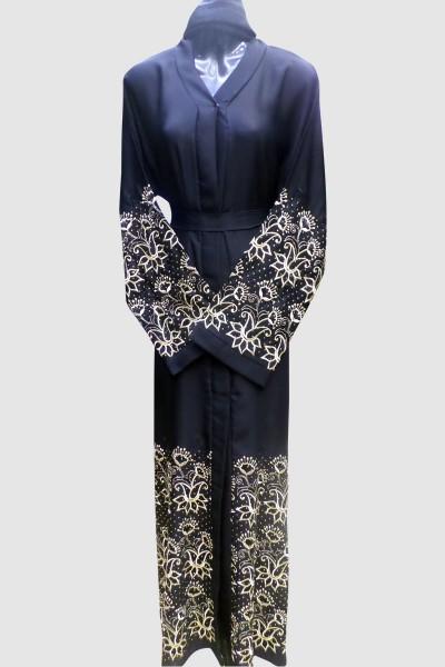 Floral Abaya Free Shipping
