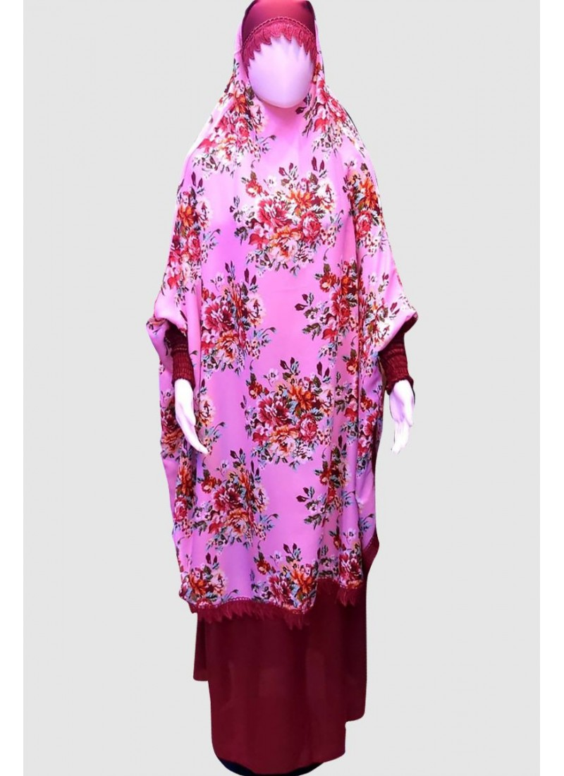 Classy Print Pray Abaya