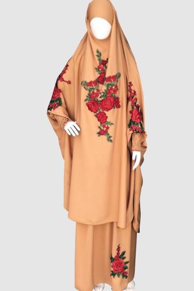 Customize Pray Abaya (6 Pieces Set)