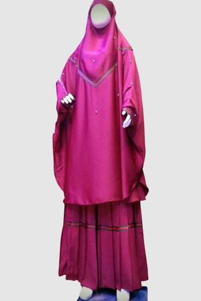 A'mmal Pray Abaya (6 Pieces Set)