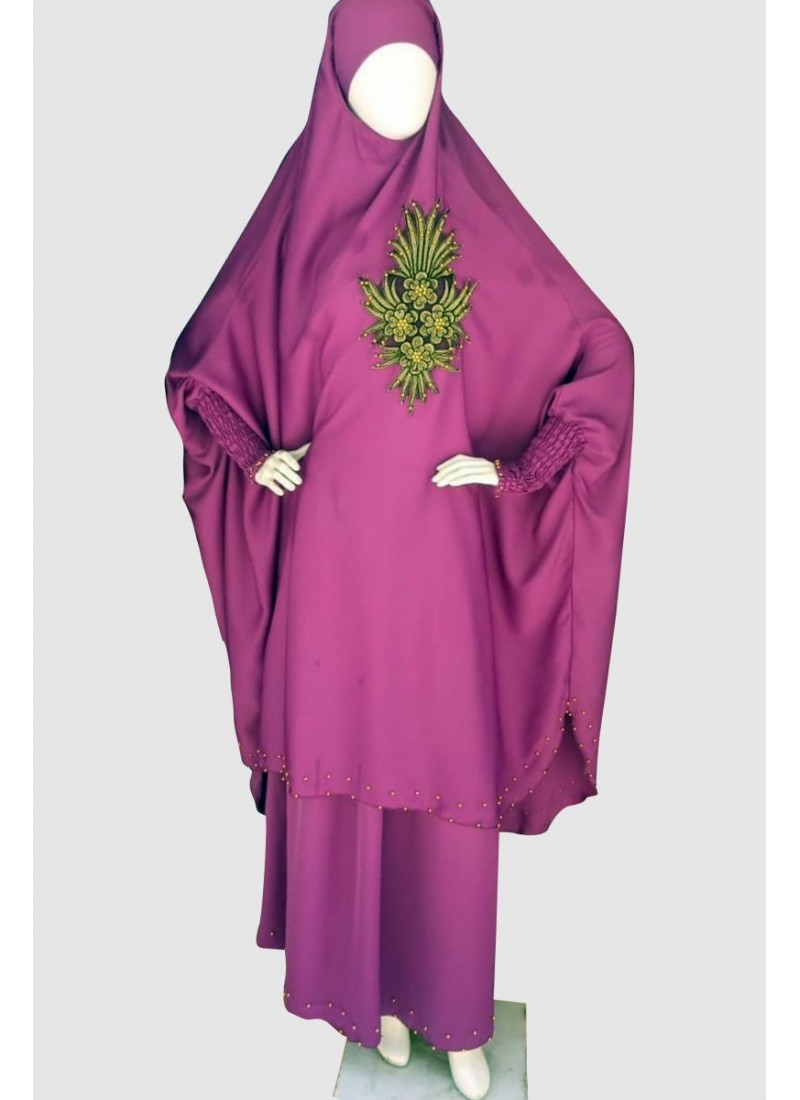Comfortable Islamic Pray Abaya