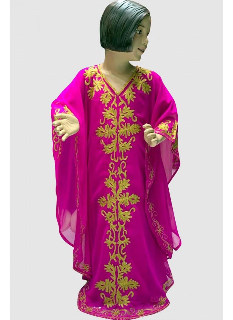 A'mina Embroidery Kid's Kaftan
