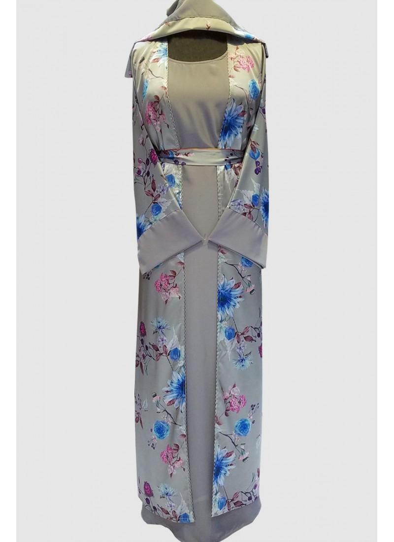 Stunning Printed Modern Abaya