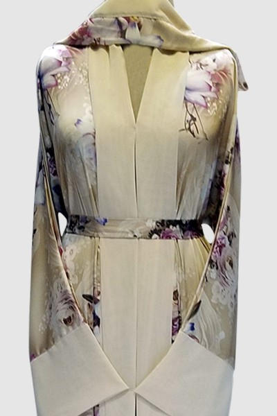 Printed Designer Abaya