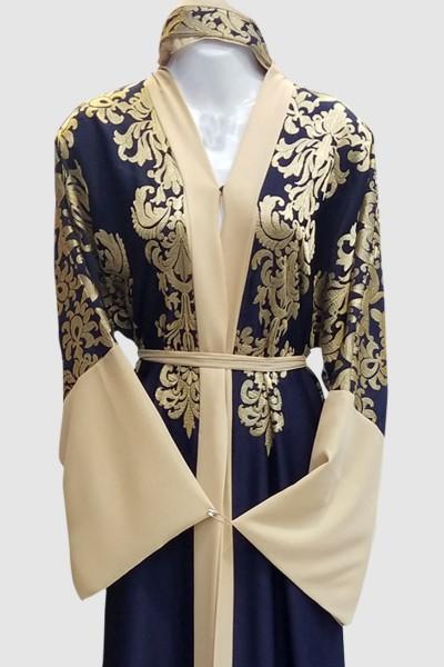 Embroidery Kimono Abaya
