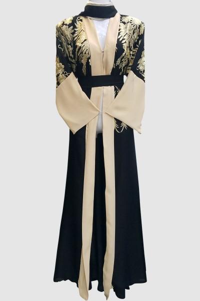 Stunning Embroidery Abaya