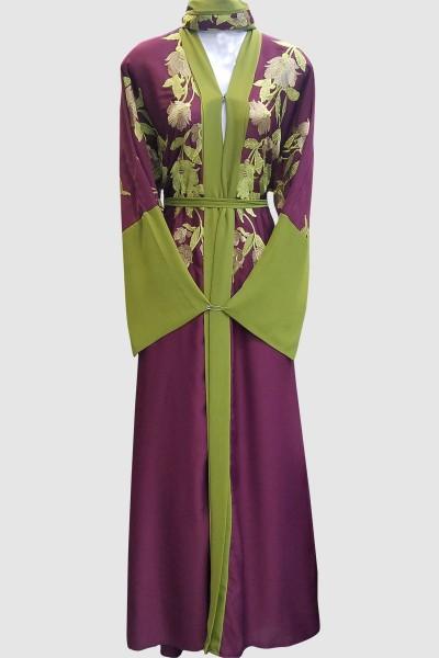 Dubai Fancy Kimono Abaya