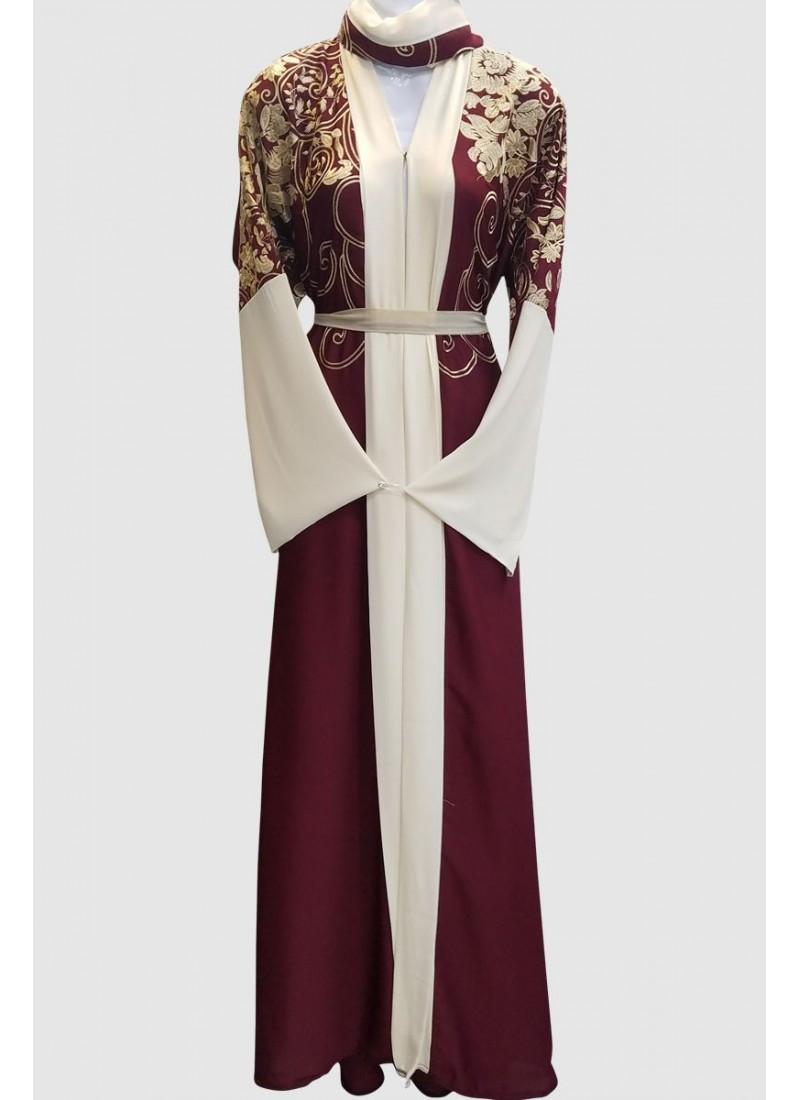 Fancy Latest Kimono Abaya