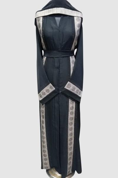 Kimono Abaya With Lace