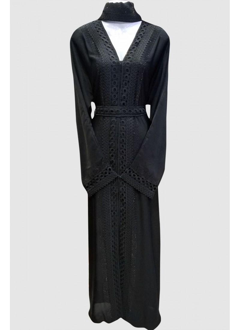 Elegance Black Abaya