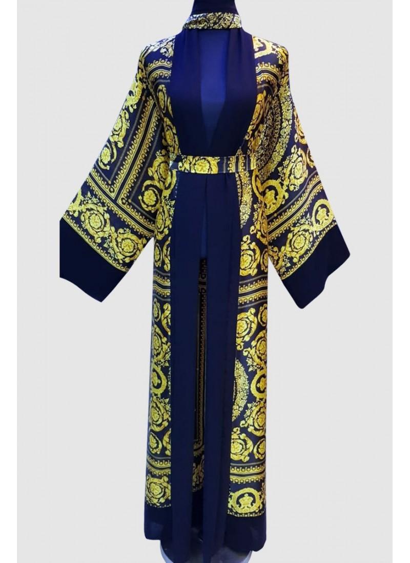 Arabian Fancy Print Abaya