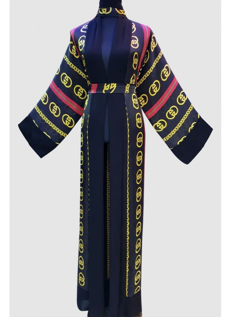 Aali'a Beautiful Print Abaya