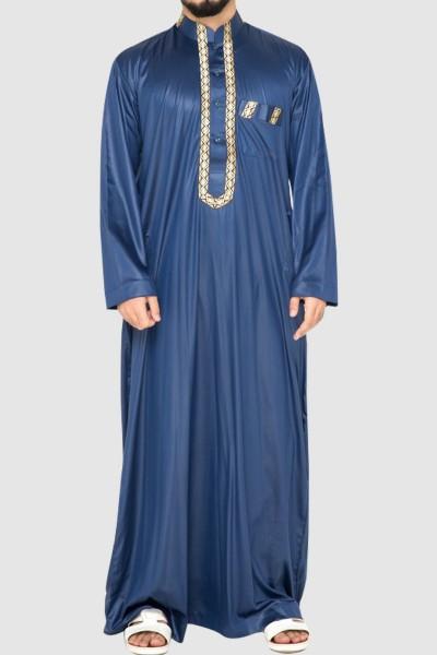 Arab Style Full Sleeves Men's Thobe