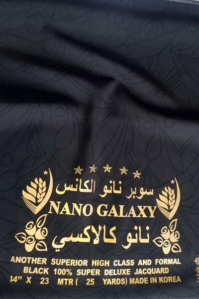 Nano Galaxy Abaya Fabric