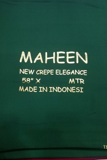Maheen Crepe Abaya Fabric
