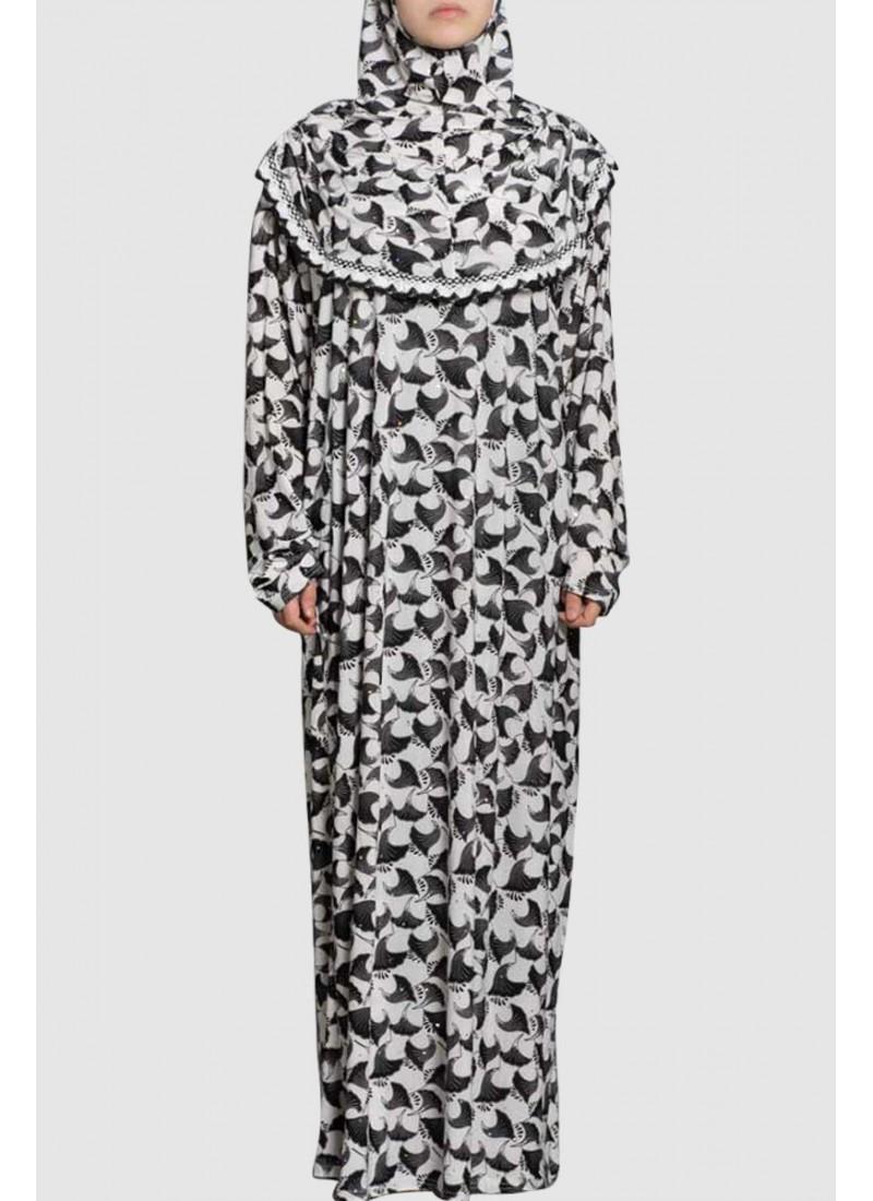 Pray Abaya Elegant Design