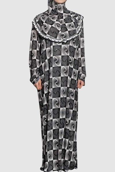 Modest Fancy Islamic Pray Abaya