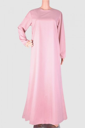 Straight Cut Fancy Abaya