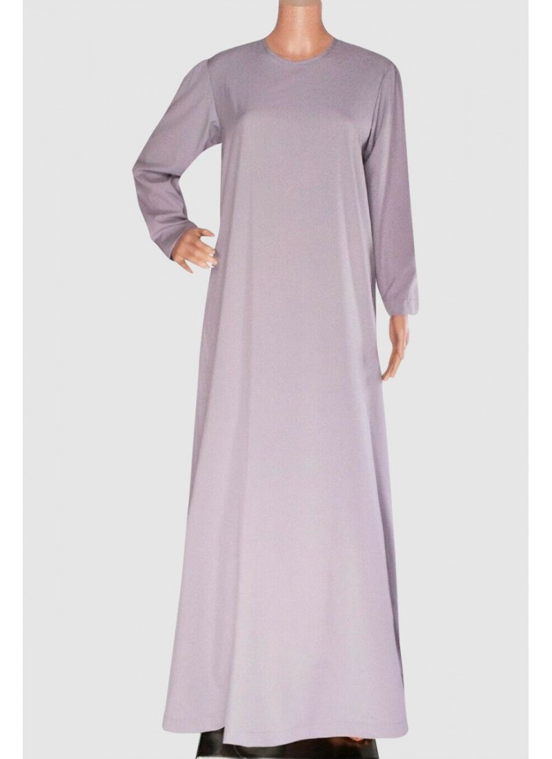 Arabic Simple Color Abaya