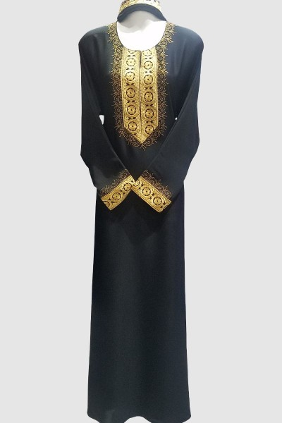 Aaliyah Embroidery Lace Abaya