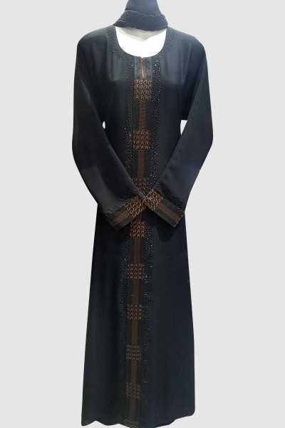 Solid-Ago Classy Abaya