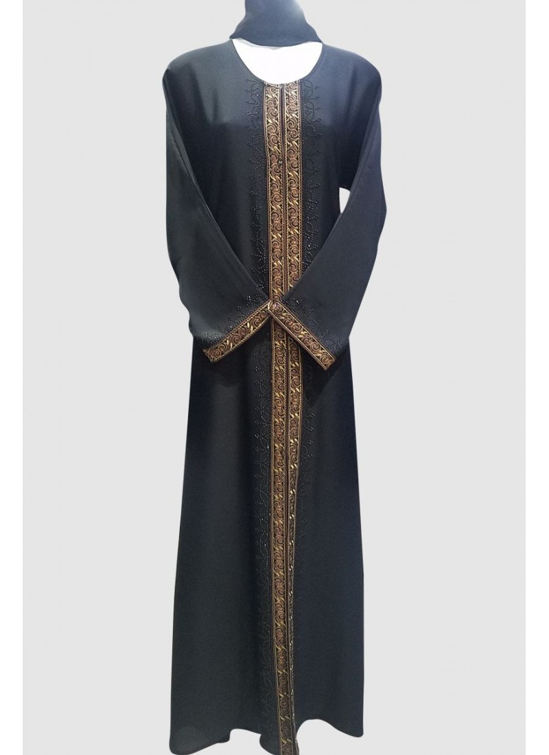 Jamesia Lace Fancy Abaya