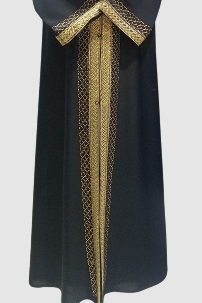 Lunaria Islamic Black Abaya